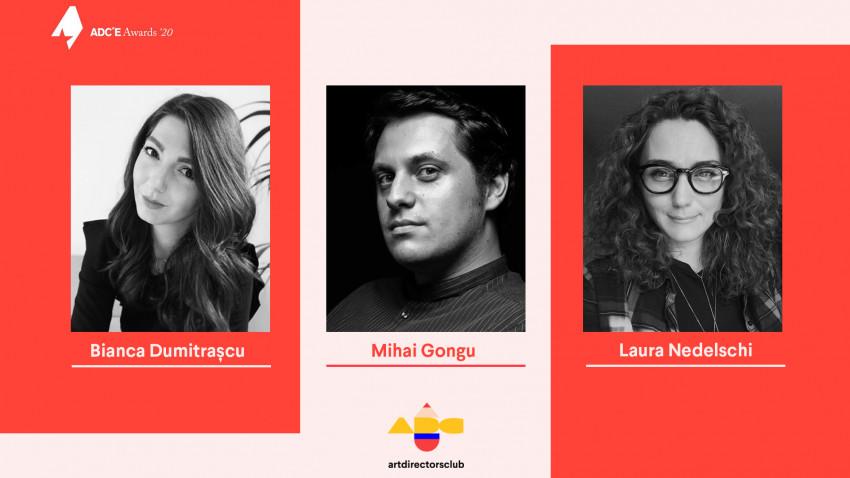 Bianca Dumitrașcu, Laura Nedelschi și Mihai Gongu vor fi jurați la ADC*E Awards 2020