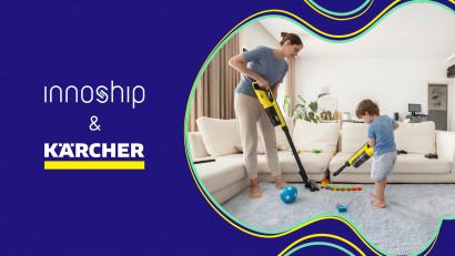 Kärcher, liderul mondial în domeniul tehnologiei de curățare, devine client al startup-ului tech Innoship