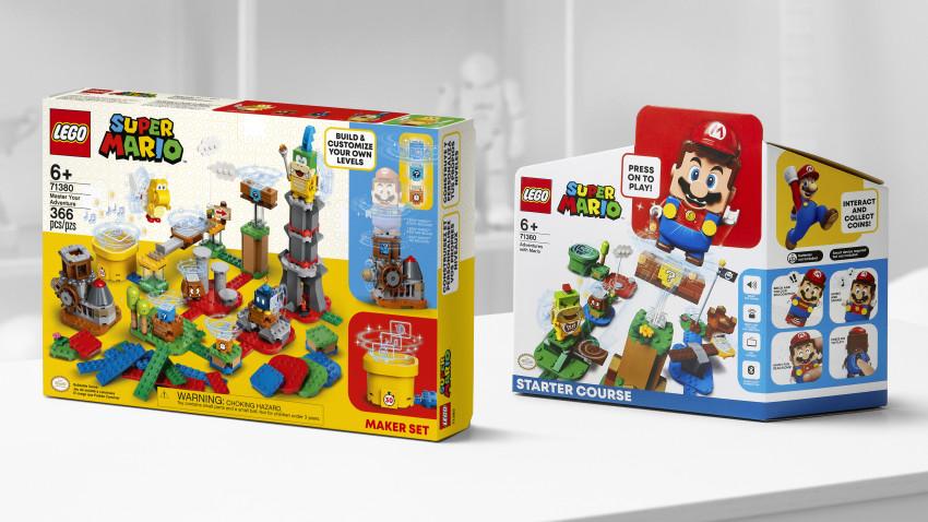 Grupul LEGO și Nintendo construiesc împreună universul LEGO® Super Mario™, pentru și mai multe aventuri personalizate