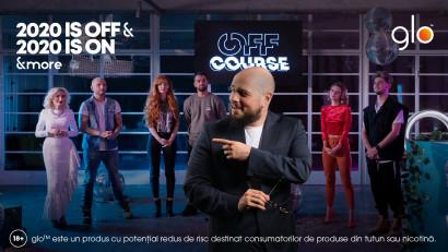 glo™ lansează mini-seria digitală OFF COURSE. O sursă de inspirație și umor despre 2020.