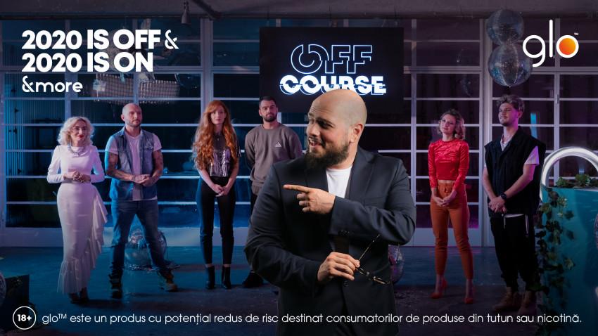 glo™ lansează mini-seria digitală OFF COURSE. O sursă de inspirație și umor despre 2020