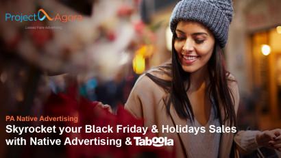 Project Agora organizează un webinar despre bunele practici în publicitatea nativă pentru a ajuta brandurile să își crească vânzările de Black Friday și de sărbători