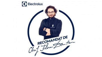 Chef Florin Dumitrescu devine ambasador Electrolux printr-un parteneriat 360 ce oferă pasionaților de gătit un nou tip de inspirație culinară