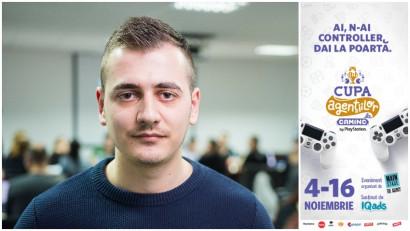 [Cupa Agentiilor la Gaming] Ionut Resnoveanu: Au fost foarte disputate si echilibrate meciurile din optimi sau sferturi