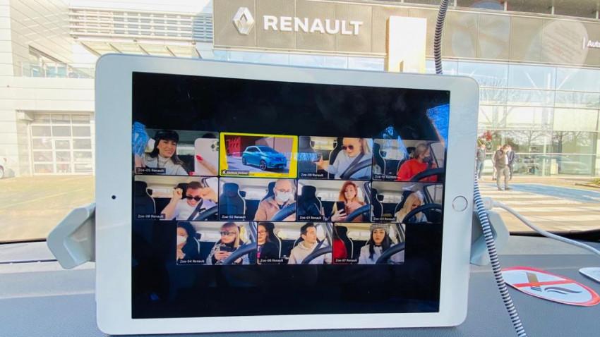 Primul concert VUNK exclusiv onlinetransmis prin live streaming în vehiculele Renault ZOE