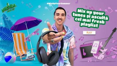 Mirinda #MixUpYourSummer - Campania care a generat milioane de vizualizări în social media prin premiere digitale, filtre AR, provocări și mixuri muzicale