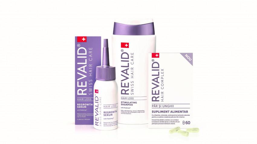 REVALID® își extinde gama cu noi produse pentru tratarea în profunzime a problemelor părului