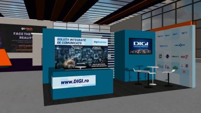 La GoTech World 2020: The new reality Digi aduce oferte pentru clienții corporate și prezentări inedite în secțiunile tematice