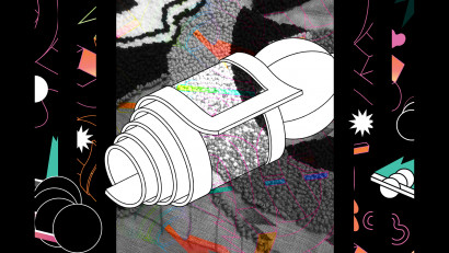 Proiectul One Night Gallery,Tapiserie în realitate augmentată, la Cărturești Carusel
