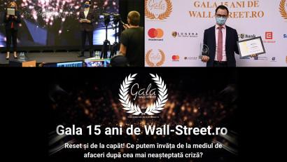 Veranda Mall, premiu la Gala 15 ani de Wall-Street.ro