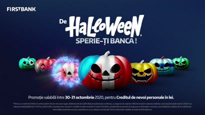 First Bank - De Halloween, sperie-ti banca! (animatie)