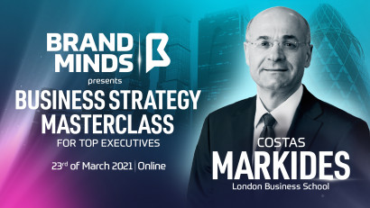 BRAND MINDS LAUNCHES BUSINESS STRATEGY MASTERCLASS FOR TOP EXECUTIVES