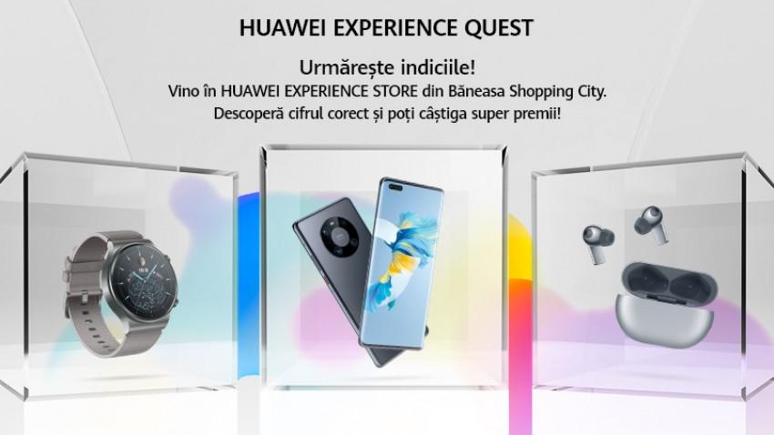 Andreea Remețan, Lidia Buble și Dani Oțil te invită la Huawei Experience Quest: o campanie dedicată tuturor consumatorilor cu premii atractive de sărbători marca Huawei