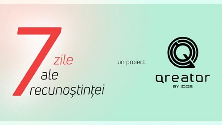 7 zile ale recunoștinței: un proiect Qreator by IQOS de final de an