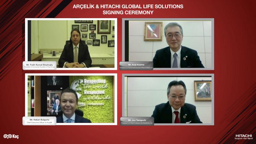 Arçelik și Hitachi Global Life Solutions anunță intenția de a forma o asociere pe piața globală de electrocasnice (excluzând Japonia)