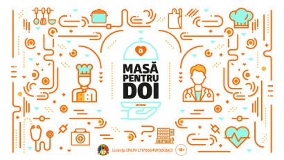 """BETANO sprijină cadrele medicale din linia întâi și industria HoReCa din România, prin proiectul """"Masă pentru Doi"""""""