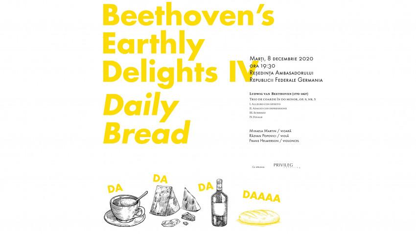 """""""Plăcerile lumești ale lui Beethoven"""" – o serie de concerte dedicate marelui compozitor german în cadrul Festivalului SoNoRo XV"""