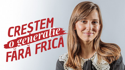 Salvati Copiii Romania - Crestem o generatie fara frica (Dana Rogoz)