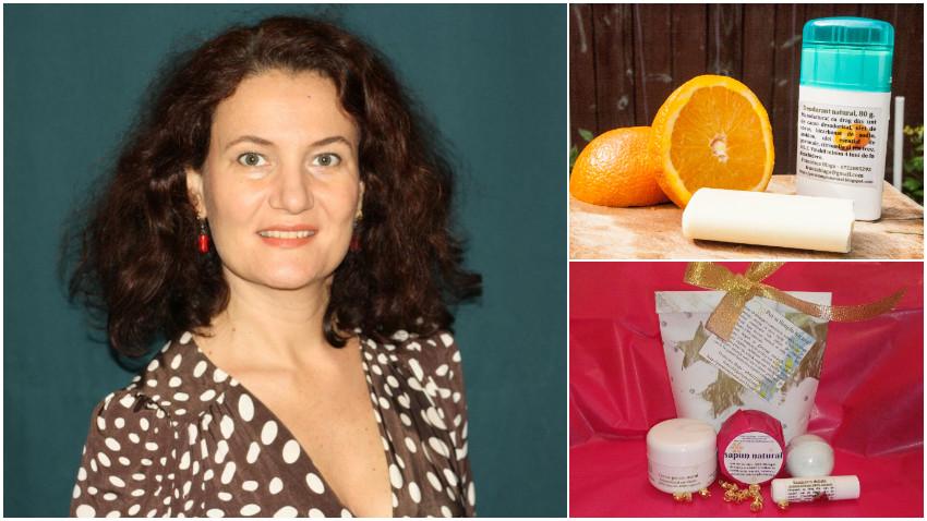 [Buy local] Francesca Blaga: Cel mai des oamenii ma cauta cand au nevoie de produse de ingrijire sanatoase