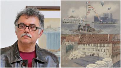 Florian Doru Crihana: Eu nu am dorit să devin artist; aveam doar ceva de spus folosind creionul și hârtia, pensula și cartonul