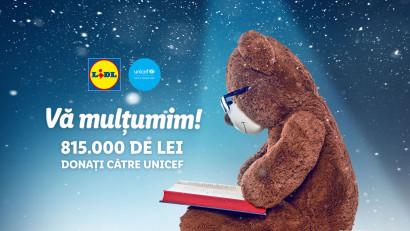 Lidl susține accesul la educație de calitate pentru copiii din medii vulnerabile și donează cu sprijinul clienților săi 815.000 de lei către UNICEF