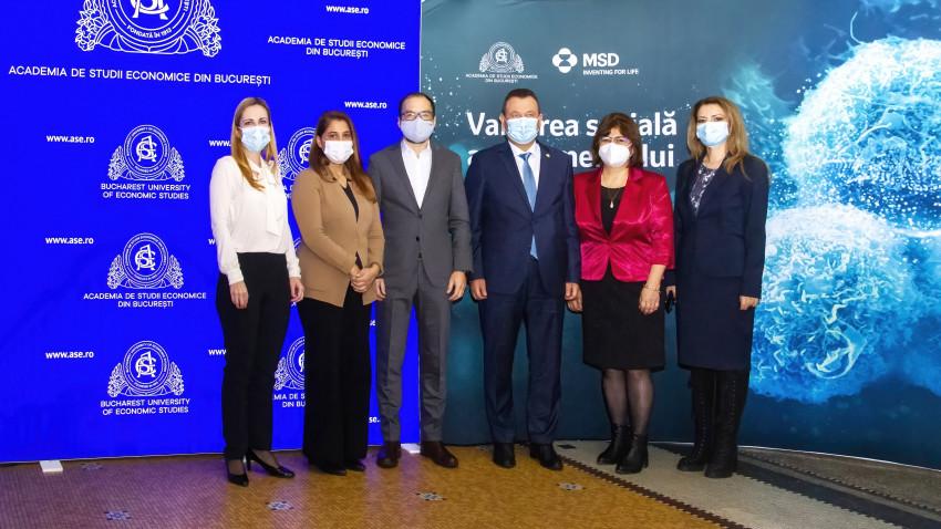 Academia de Studii Economice din București va realiza prima analiză de impact a investițiilor în controlul cancerului în România, într-un proiect de cercetare susținut de MSD România