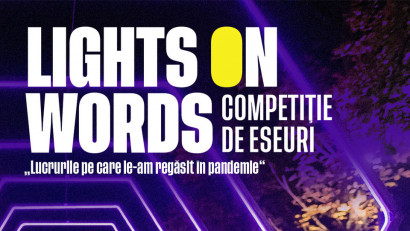 "Lights On lansează competiția de eseuri ""Lights On Words"", în parteneriat cu Betfair Romania Development"