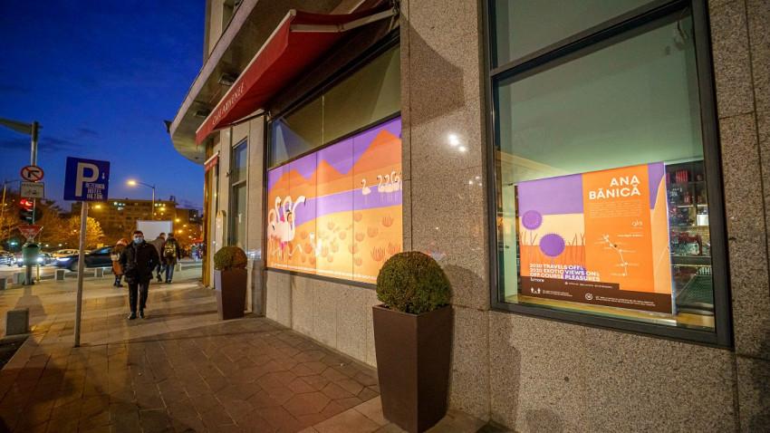 City break digital curatoriat de One Night Galleryla glo™ OFF COURSE BOULEVARD