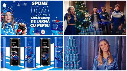 Sărbătorește așa cum simți. Pepsi spune DA Sărbătorilor de iarnă adevărate & imperfecte