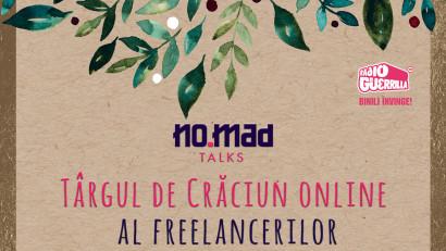 Experiențe împachetate în hârtie de cadou la Târgul de Crăciun online al freelancerilor, organizat de NO.MAD Talks