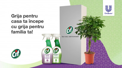 Stefanini Infinit a identificat cea mai bună oportunitate de lansare pentru noile produse Cif Disinfect & Shine