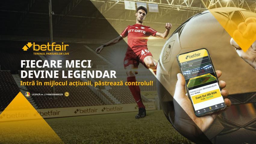 Betfair face fiecare meci legendar într-o nouă campanie de imagine