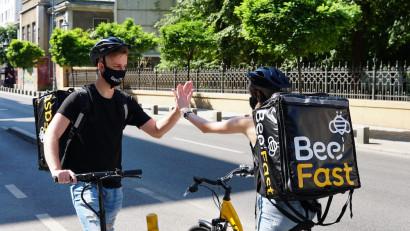 Livrări în tot Bucureștiul și Ilfov: BeeFast raportează o creștere de 3 ori a cifrei de afaceri față de estimările de la începutul lui 2020