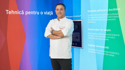 Chef Sorin Bontea devine ambasador pentru electrocasnicele Bosch în România