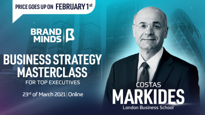 Set your business up for success in 2021 with BRAND MINDS Business Strategy for Top Executives Masterclass!