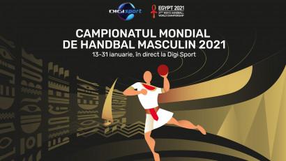 Regalul handbalistic continuă la Digi Sport: Campionatul Mondial de Handbal Masculin, în direct la Digi Sport