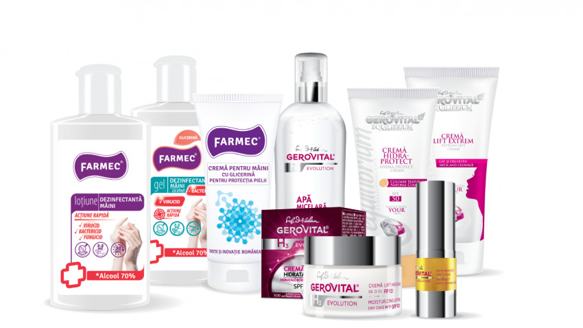 Farmec anunță creșteri semnificative în 2020 pentru magazinul online