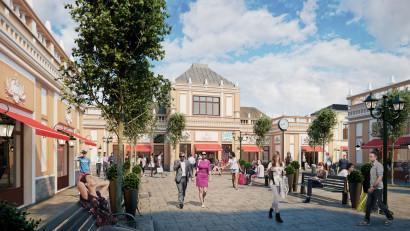 FASHION HOUSE Pallady, cel mai nou outlet dezvoltat în București,este închiriat în proporție de peste 70%