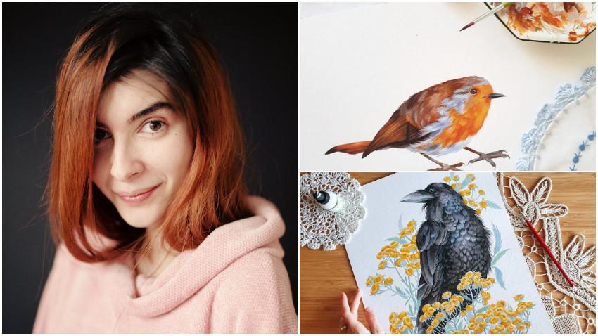 [Art & Magic] Alexia Udriște - Olteanu: E o confuzie des întâlnită, anume că trebuie musai să ai un stil, că trebuie musai să fii recognoscibil sau în vogă