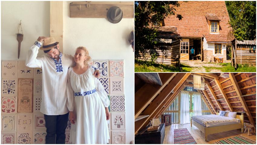 [Viața la țară] Mara-Elena Oană și Alexu Toader: Viața la sat chiar ar trebui să curgă cu răbdare și, pentru asta, e bine să o abordezi treptat, să îți iei timp să o descoperi