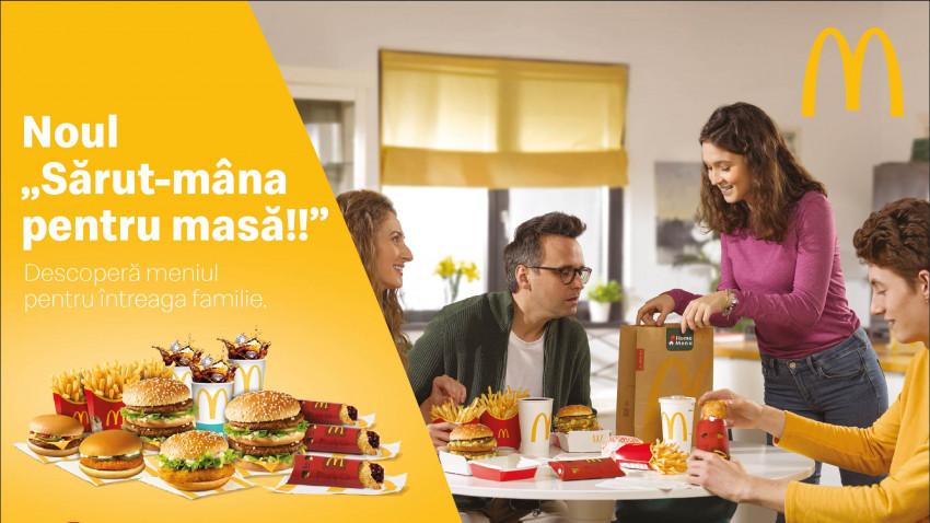 McDonald's şi DDB România lansează Home Menu – un meniu pe care nimeni nu îl poate refuza