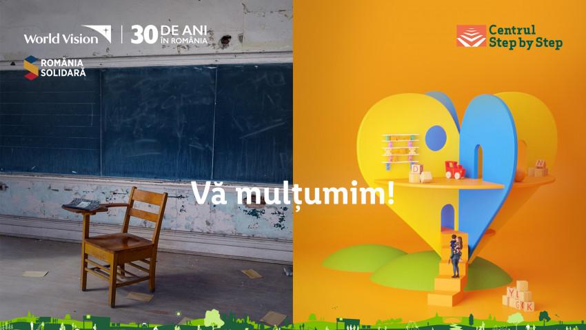 Lidl contribuie împreună cu clienții săi la modernizarea școlilor din România printr-o donație de 195.000 lei către World Vision și anunță o nouă campanie de strângere de fonduri, pentru Centrul Step by Step