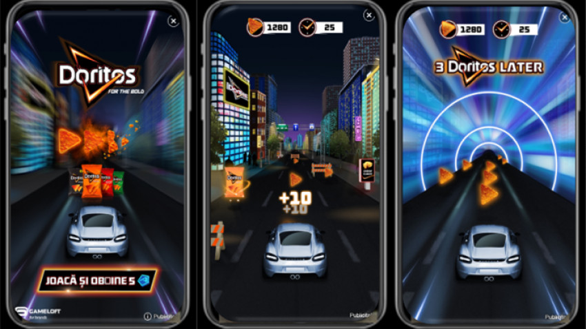 "Doritos ""face jocurile"" cu una dintre cele mai performante experiente de mobile gaming"