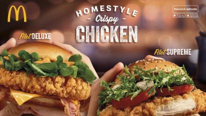 McDonald's și DDB România lansează campania Homestyle Crispy Chicken