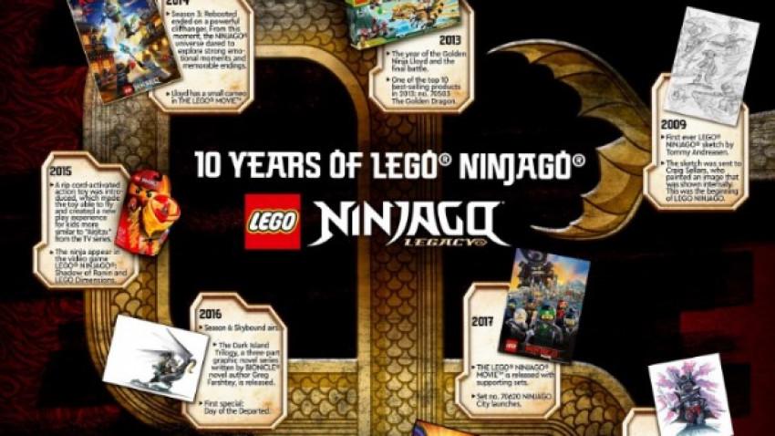 LEGO® NINJAGO® sărbătorește cea de a 10-a aniversare