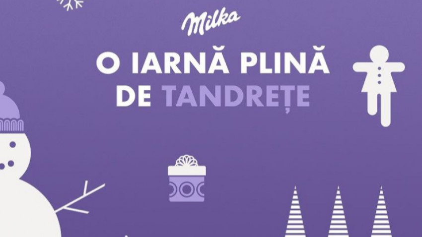 Milka lansează o provocare tandră pentru artiști pe Instagram: O iarnă plină de tandrețe