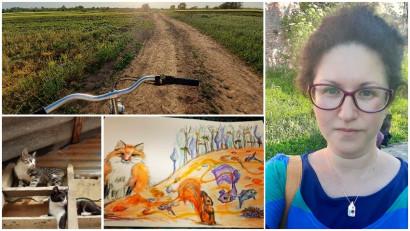 """[Viața la țară] Adina Chirica: Ne simțeam undeva la capătul pământului, izolați și având în față marea provocare de a trăi """"off the land"""" cum se spune, ca odinioară"""