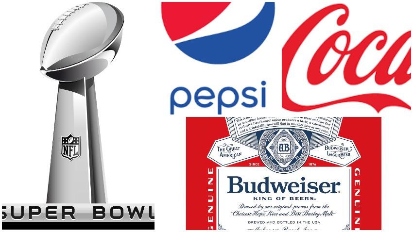 Fără Coca Cola, Pepsi și Budweiser la Super Bowl