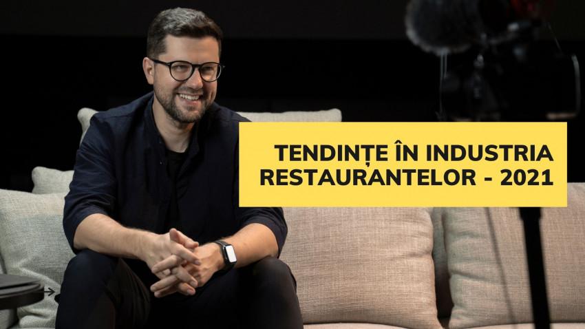 Grosu Art Studio lansează raportul de tendințe ale anului 2021 în industria restaurantelor