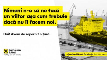 Raiffeisen Bank - Santierul naval Constanta